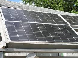 widok z mojego biura Zasilany Energią Słoneczną